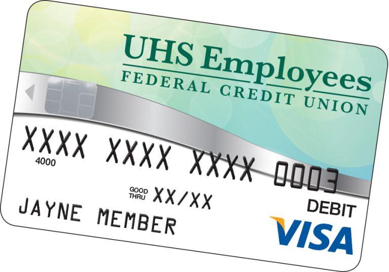 uhs debit card